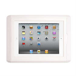 Channel Vision iPad Charging Wall Dock For Gen 2,3,4 (White)