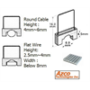 Azco Staples for AZS667 - Small