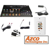 Azco 4 Zone HDTV Over CAT5E Hub Kit With Infrared and 1 Wall Plate