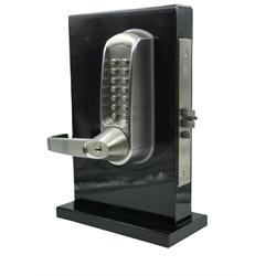 Codelocks Heavy Duty Mortise Lock 86 prep Brushed Steel