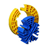 Azco Azco Comb For Straightening And Organizing Cable Bundles