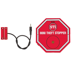STI Theft Alarm with Magnetic Sensor for Cabinets, Drawers, Doors