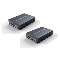 Maxaar HDMI Extender Balun with IR Over Single CAT5e or CAT6 up to 60M, 1080p,4K
