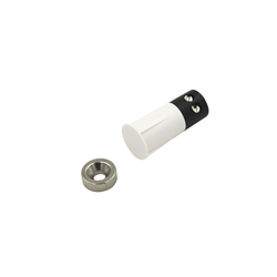 Flair Stubby Recessed Contact 3/8 Inch Screw Terminals With Donut Magnet