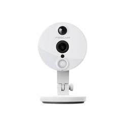 Foscam Wired/WIFI Network Camera, Infrared, Audio, PIR,1080P, P2P,MicroSD,White
