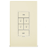 INSTEON Dual Band Keypad Dimmer 6 Button Ivory