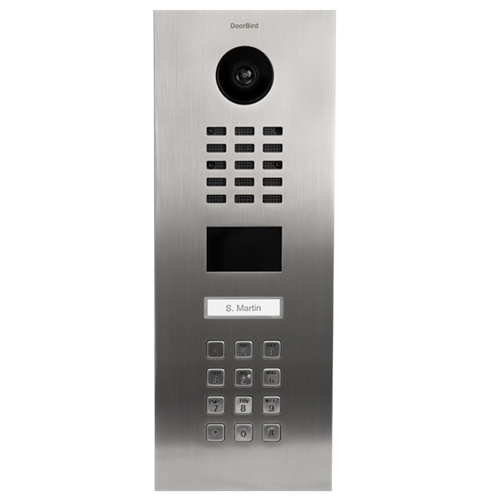 Doorbird D2101kv Ip Video Intercom With Keypad