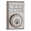 Weiser ZWave Motorized Contemporary Deadbolt - Satin Nickel