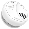 BRK 120V Combination Smoke and Carbon Monoxide Alarm With Voice, Battery Backup