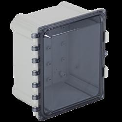 STI EnviroArmour Polycarbonate Enclosure, Tinted,  10x8x7