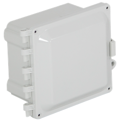 STI EnviroArmour Polycarbonate Enclosure, Opaque,  6x6x5
