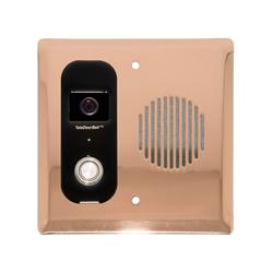 Logenex Teleport Flush Mount IP Video Door Station, Copper