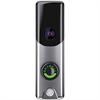 Alarm.com Skybell Slim Line Video Doorbell for Alarm.com Only, Satin Nickel