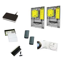 Paxton Starter Kit 2x Net2Plus POE, Enrlmnt Rdr ,10 Card,10 Token,2xP50M,Pro SW