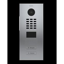 DoorBird MDU IP Video Door Intercom For 2 Tenants, 2 Buttons