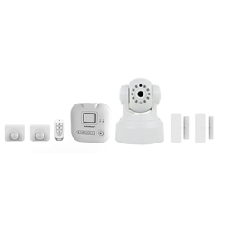 SkylinkNet Alarm System Starter Kit Plus