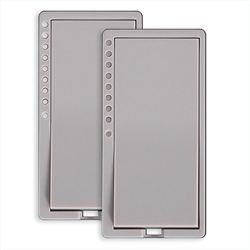INSTEON SwitchLinc V2 Gray Faceplate Kit 2 PK