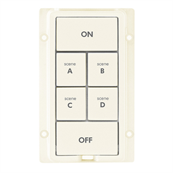 INSTEON KeypadLinc Colour Kit 6 Button Almond