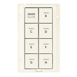 INSTEON KeypadLinc Almond 8 Button Kit