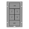 INSTEON KeypadLinc Colour Kit 6 Button Gray