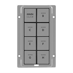 INSTEON KeypadLinc Gray 8 Button Kit