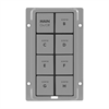 INSTEON KeypadLinc Gray 8 Button Kit