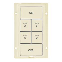 INSTEON KeypadLinc Colour Kit 6 Button Ivory
