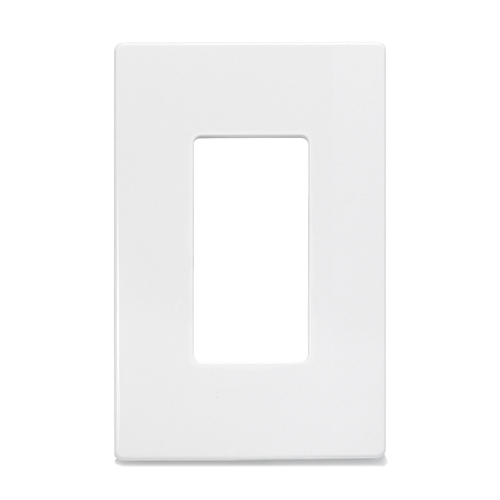Insteon Screwless Decora Wall Plate 1 Gang White