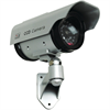 Securityman Indoor/Outdoor Solar Powered Dummy Bullet Camera With LED