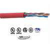 Provo CAT6 UTP Ethernet Network Cable FT4 300M Red