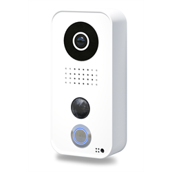 DoorBird Surface Mount IP Video Door Intercom, White