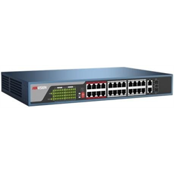 Hikvision 24 Port 100 Mbps Unmanaged PoE Switch
