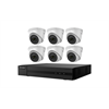 Hikvision IP Security Camera Kit, 8 Channel NVR, 6 x 1080p Turret Cameras