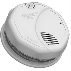 BRK 120V Wired Dual Tech Photoelectric / Ionization Smoke Alarm, Battery Backup