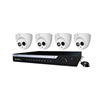 WatchNET HD over Coax Kit with 4CH DVR 1TB HDD + 4 x 1080p IR Turret Cameras