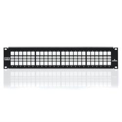 Leviton Shielded Quickport Patch Panel, 48-port, 2RU