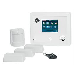 Interlogix Simon XTi Wireless Alarm System Kit with Motion, 3 Door, Fob