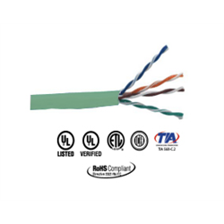 Provo CAT5E Network Cable FT4 300M Green