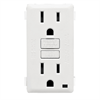 Leviton Renu 15A GFCI Receptacle Face Kit White
