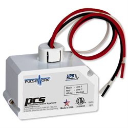 PCS PulseWorx UPB  Fixture Module - Dimming, 2 Channels, 400W White (Clearance)