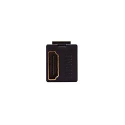 Leviton Quickport HDMI Pass Thru Connector Black