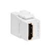 Leviton Quickport HDMI Pass Thru Connector White