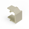 Leviton Quickport Blank Inserts Ivory