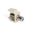Leviton Quickport F Connector Ivory
