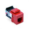 Leviton Quickport Voice 6P6C Red