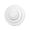 Potter Heat Detector 57C/135F Fixed and Rate Rise, Closed Contact, White