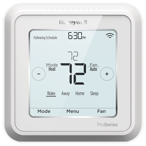 honeywell lyric t6 pro wifi thermostat th6320wf2003