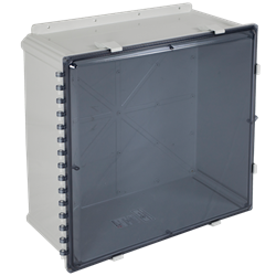 STI EnviroArmour Enclosure Polycarbonate, 24x24x10, Tinted