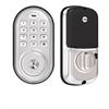 Yale Assure Lock Zwave Plus Push Button Deadbolt Satin Nickel