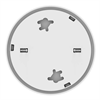 Additional images for First Alert Battery Powered Slim Combination Smoke/Carbon Alarm (OPEN BOX)